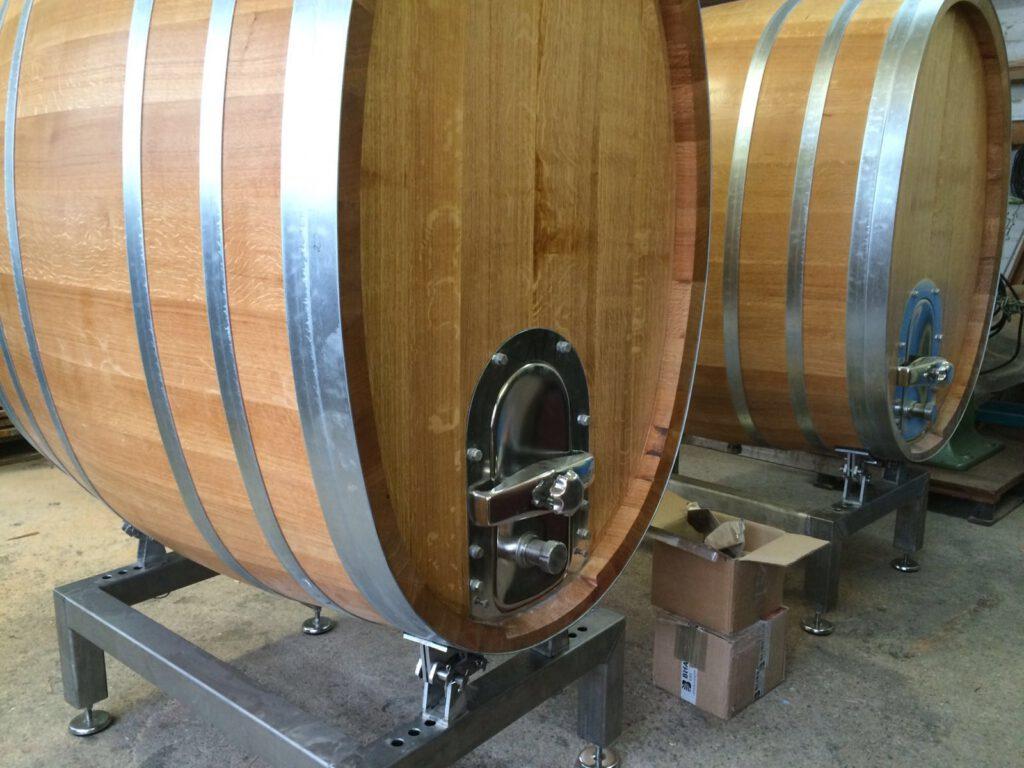 Fasslager zum lagern von Fasswein für Stückfässer
