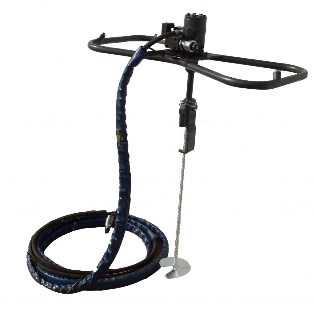Hydraulisches-Ankereindrehgerät