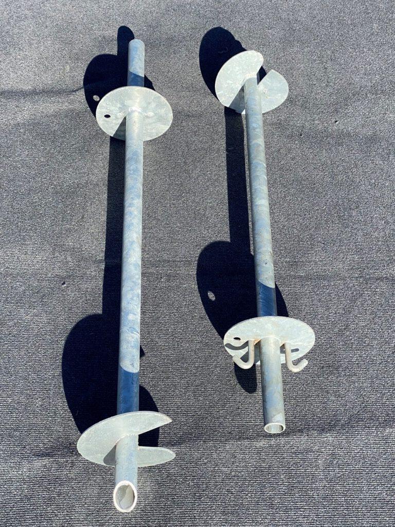 Folientunnelanker-Rohranker